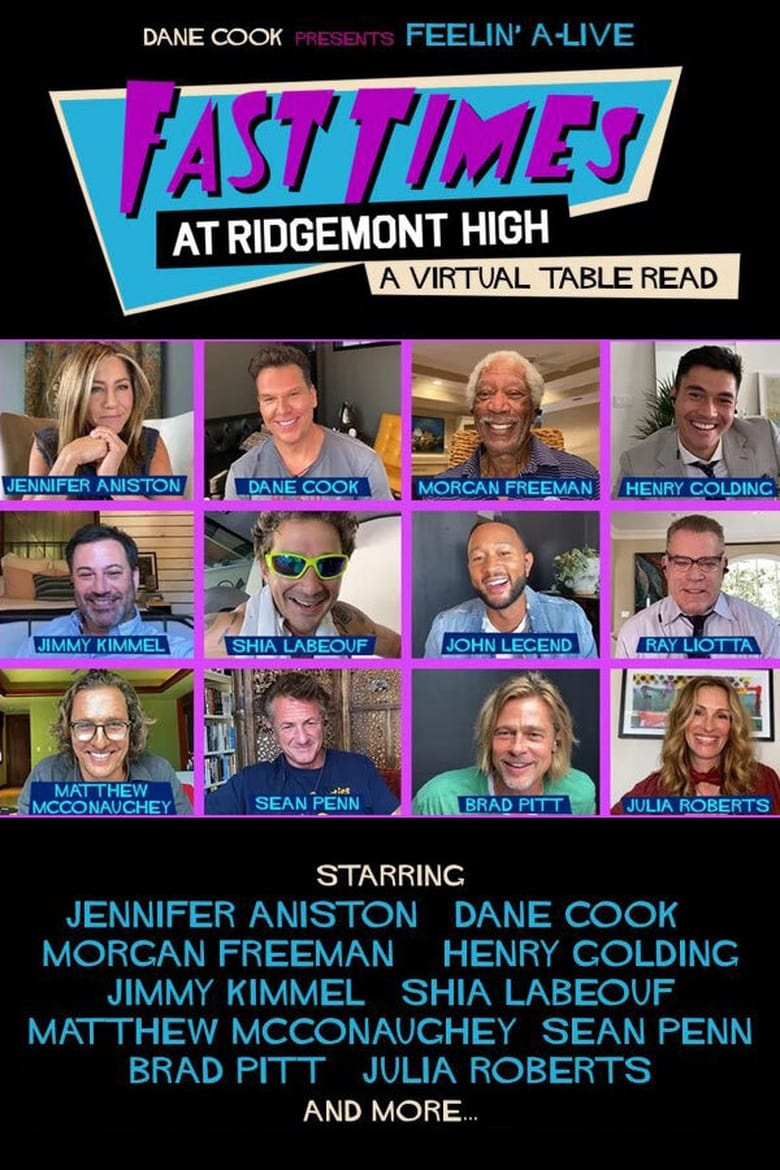 Fast Times at Ridgemont High: A Virtual Table Read (2020)