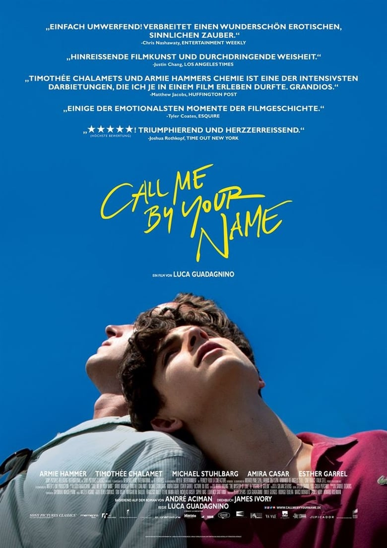 Call Me by Your Name - Liebesfilm / 2017 / ab 12 Jahre