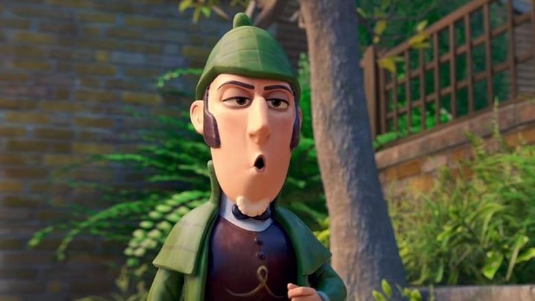 кадр из фильма Шерлок Гномс
