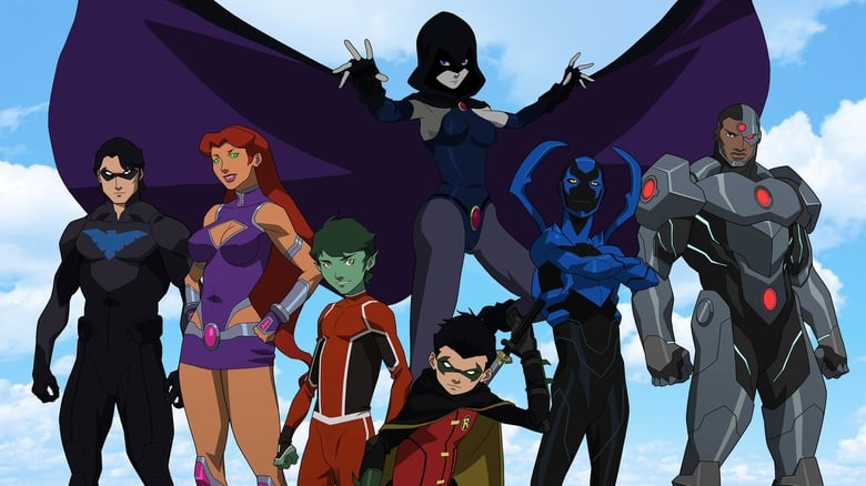 Justice+League+vs.+Teen+Titans