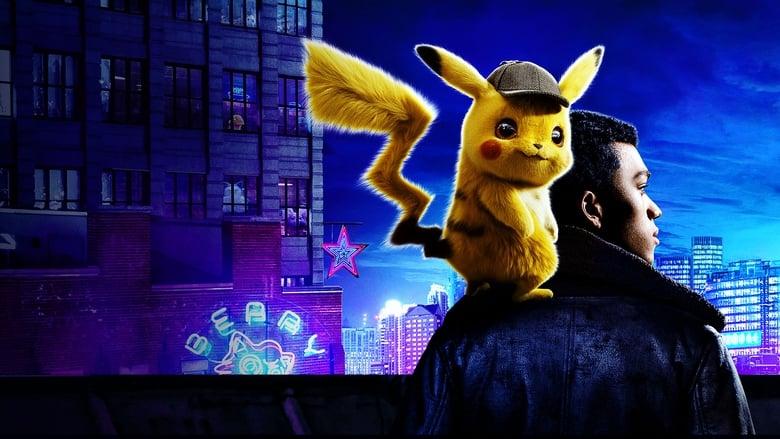 кадр из фильма Покемон: Детектив Пикачу