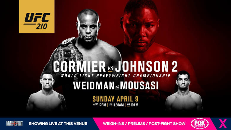 Watch UFC 210: Cormier vs. Johnson 2 1337 X movies