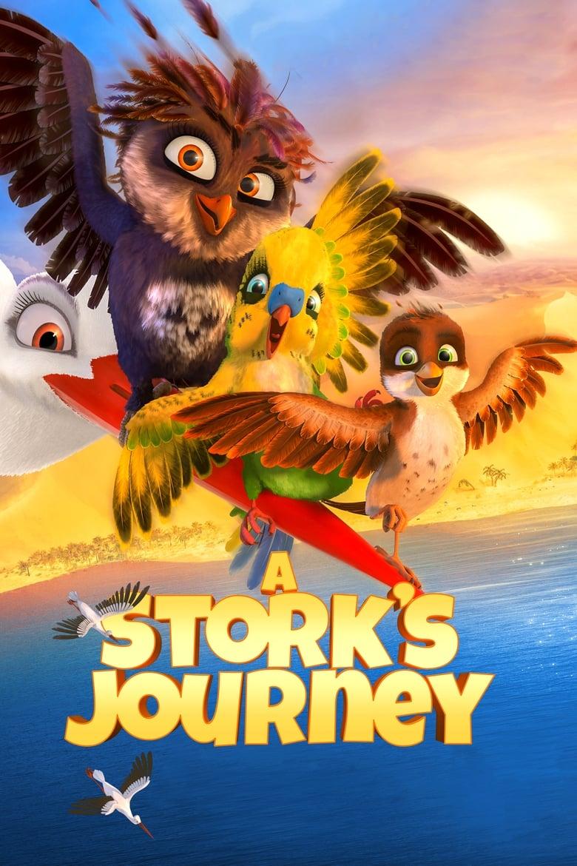 A Stork's Journey - poster