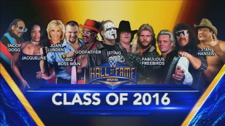 WWE Hall of Fame 2016