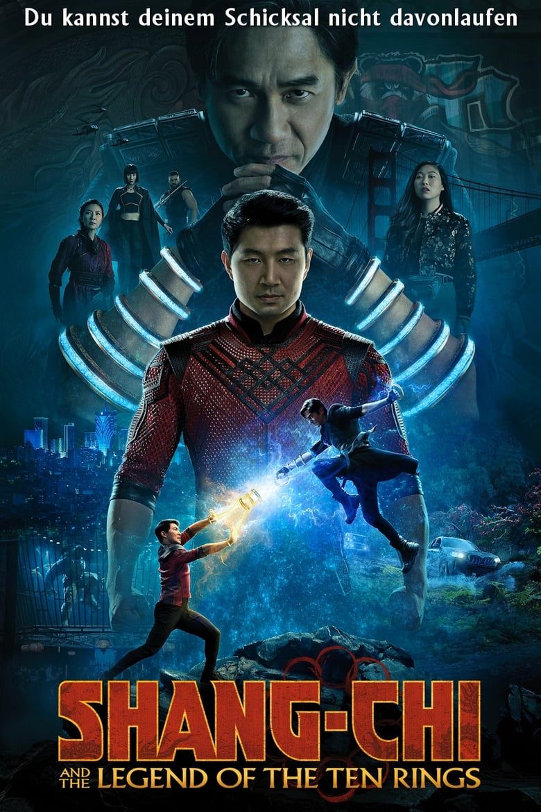 Shang-Chi and the Legend of the Ten Rings - Action / 2021 / ab 12 Jahre