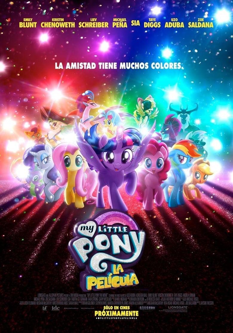 My Little Pony: La película (2017) HD