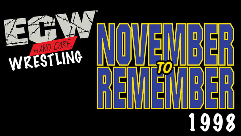 Scarica ECW November to Remember 1998 Gratis