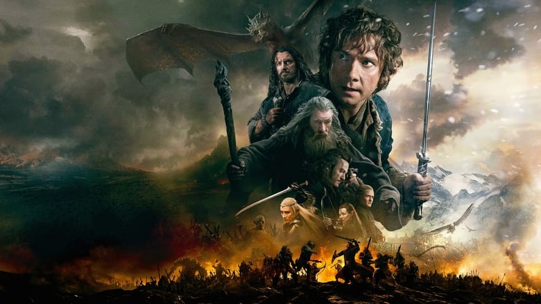 The Hobbit: The Battle of the Five Armies banner backdrop