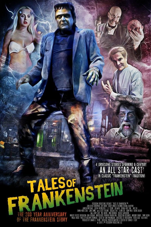 Εξώφυλλο του Tales of Frankenstein