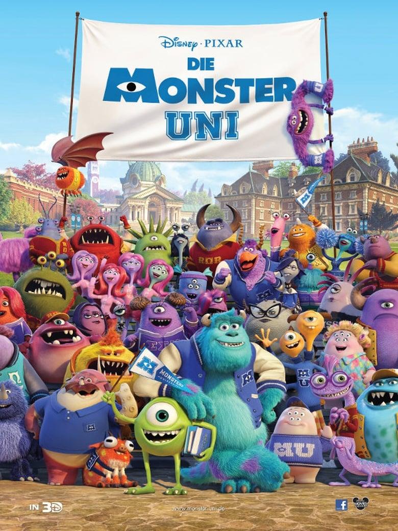 Die Monster Uni - Animation / 2013 / ab 0 Jahre