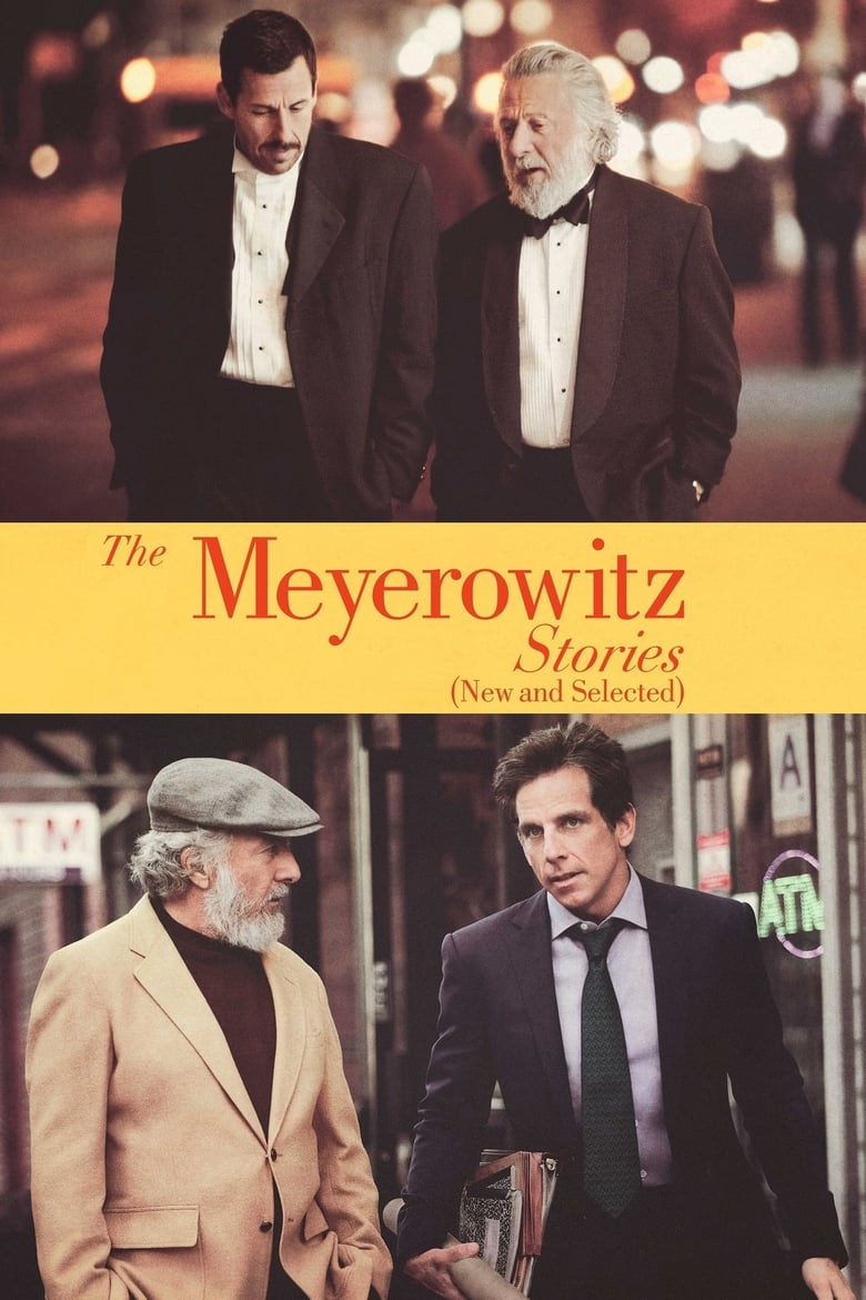 Εξώφυλλο του The Meyerowitz Stories (New and Selected)