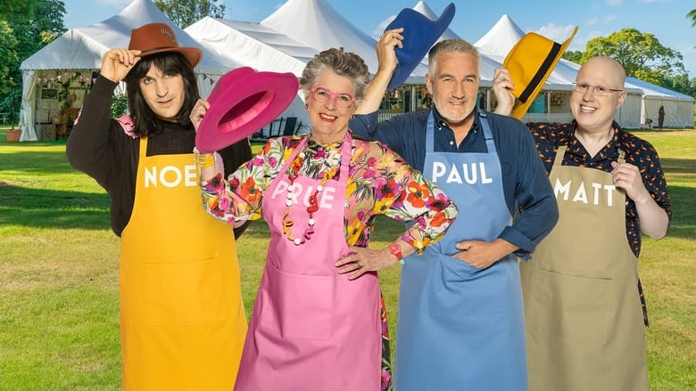 The Great British Bake Off banner backdrop