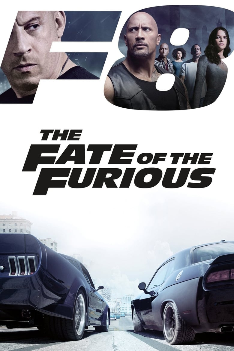 The Fate of the Furious - poster