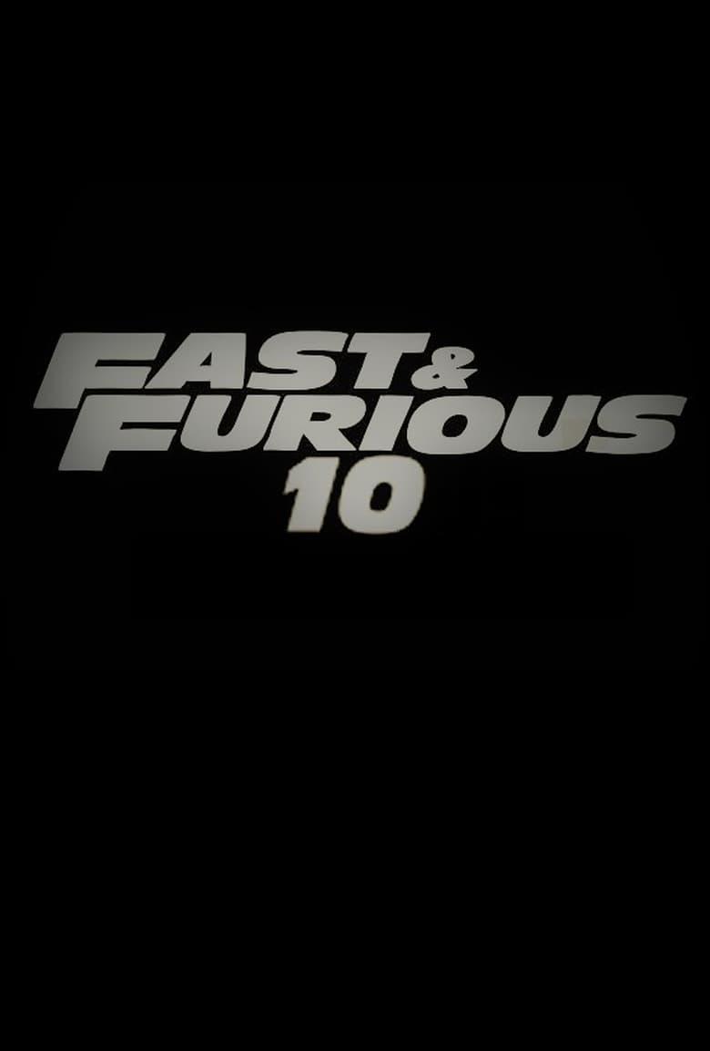 Εξώφυλλο του Furious 10