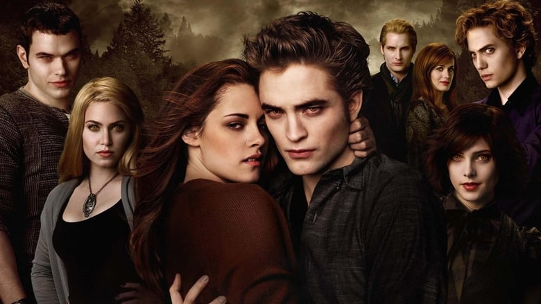 The Twilight Saga: New Moon banner backdrop
