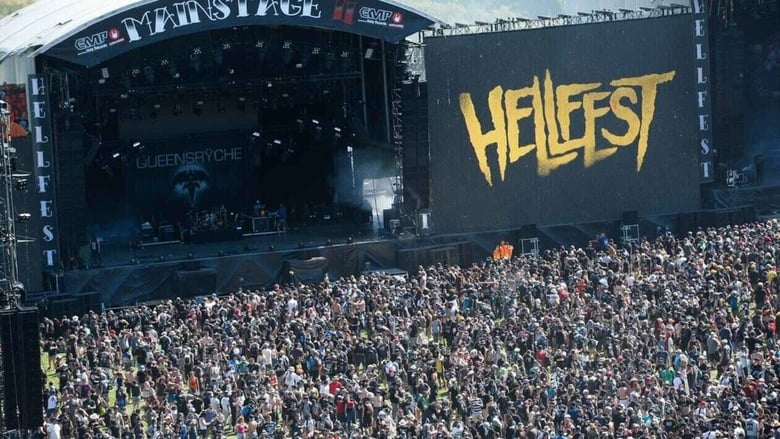 Hellfest 2018 banner backdrop