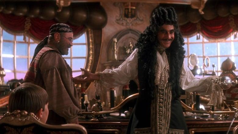 Dustin Hoffman en Hook (El capitán Garfio)