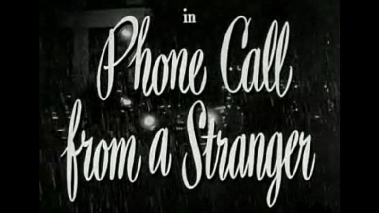 Regarder Film Phone Call from a Stranger Gratuit en français