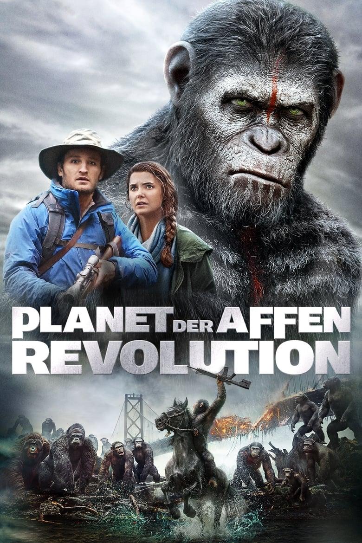 Planet der Affen - Revolution - Science Fiction / 2014 / ab 12 Jahre
