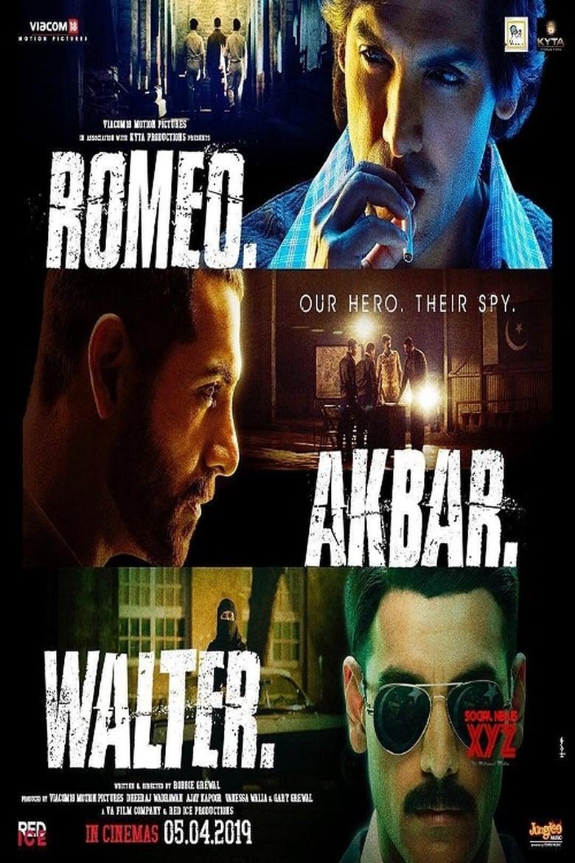 Romeo Akbar Walter - poster