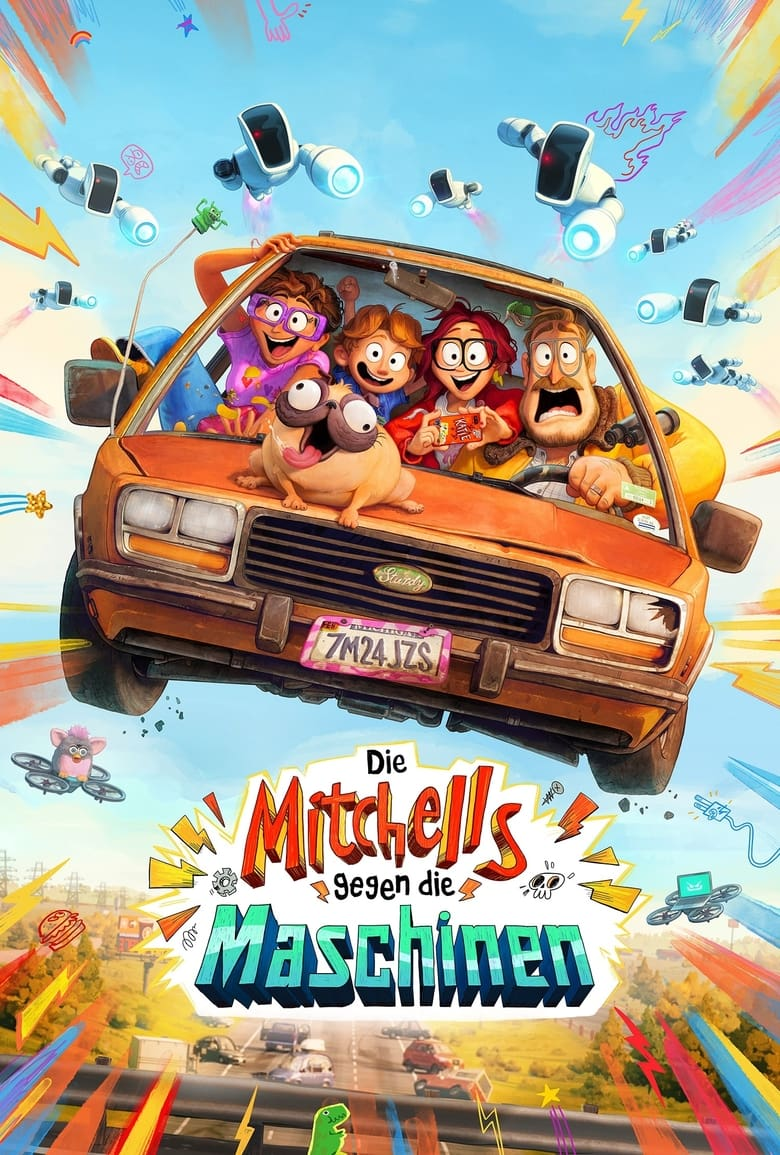 Die Mitchells gegen die Maschinen - Animation / 2021 / ab 6 Jahre