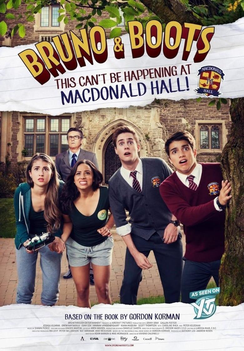 Εξώφυλλο του Bruno & Boots: This Can't Be Happening at Macdonald Hall