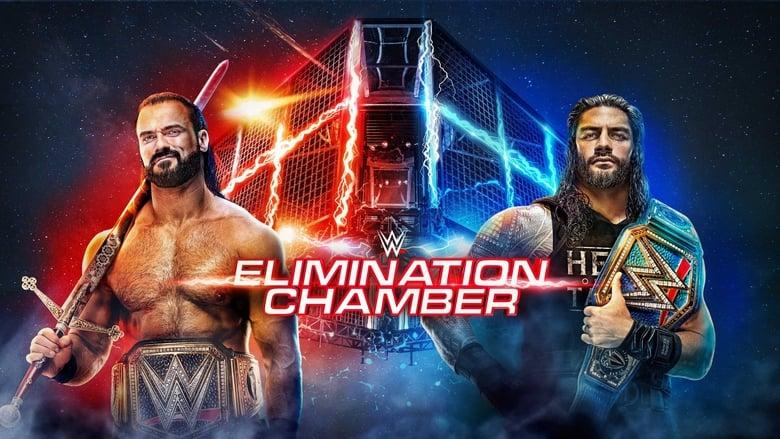 عرض المهرجان السنوي WWE Elimination Chamber 2021 مترجم