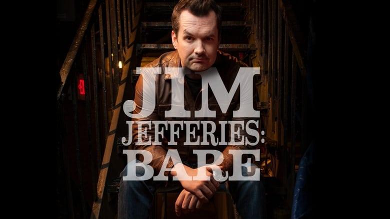 Jim Jefferies: Bare banner backdrop