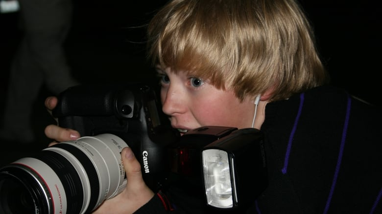 Teenage Paparazzo