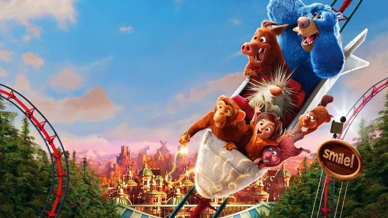 кадр из фильма Волшебный парк Джун