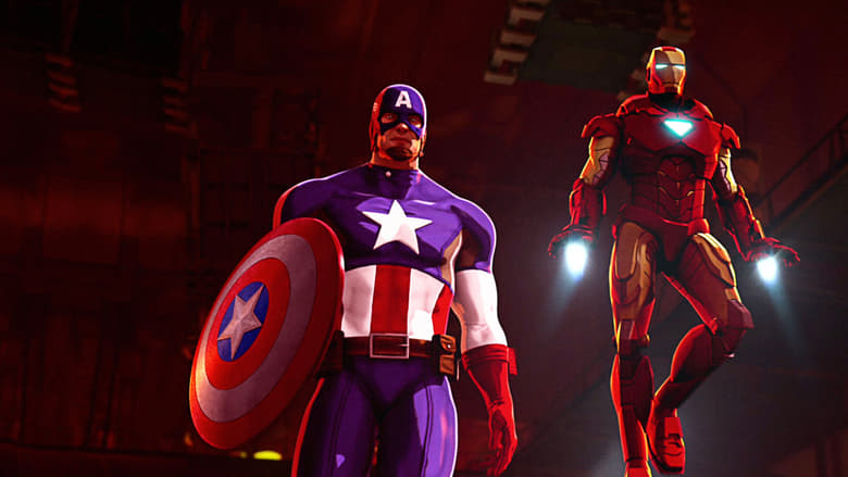 Iron+Man+%26+Captain+America%3A+Heroes+United