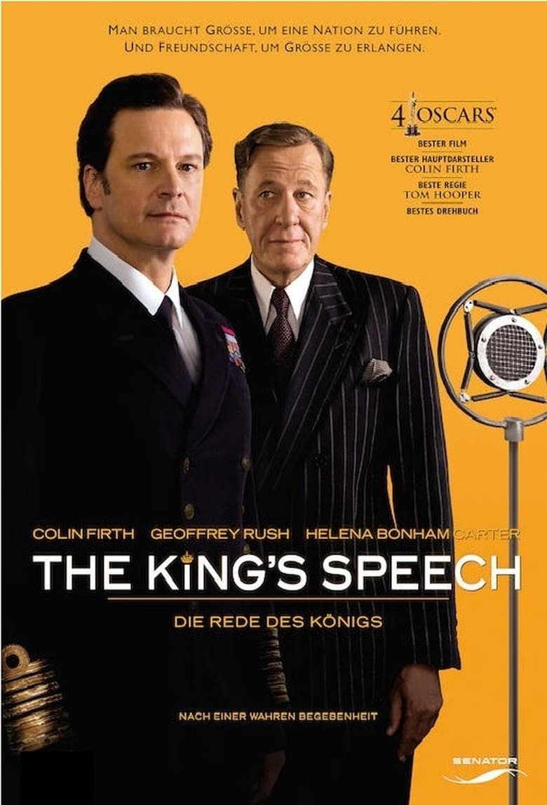 The King's Speech - Die Rede des Königs - Drama / 2011 / ab 0 Jahre