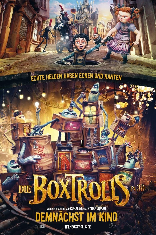 Die Boxtrolls - Animation / 2014 / ab 6 Jahre