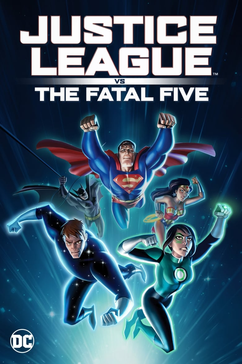 Justice League vs. the Fatal Five - poster