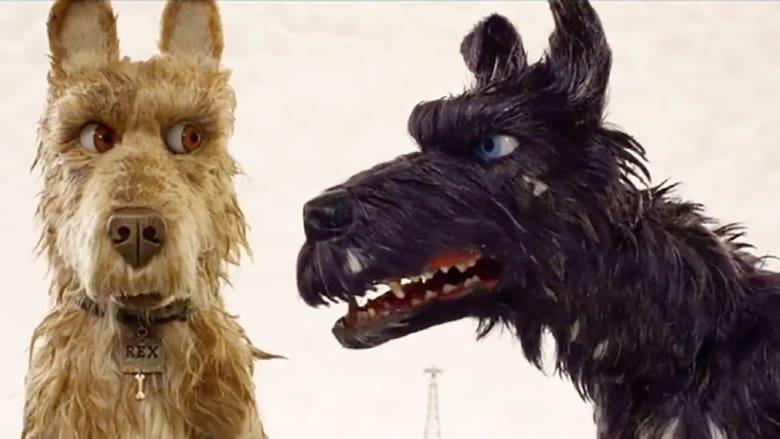 кадр из фильма Остров собак