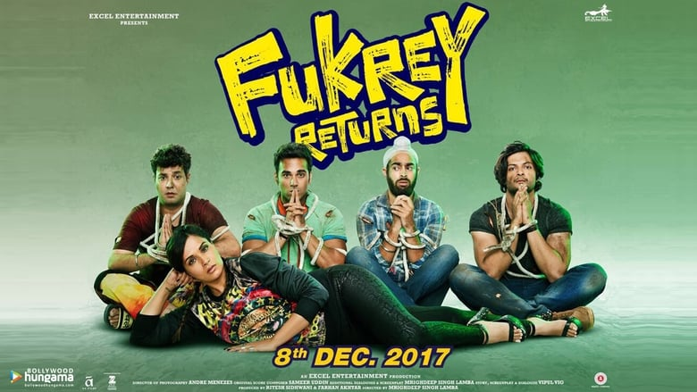 Fukrey Returns 2017 Hindi Full HD Movie 1GB