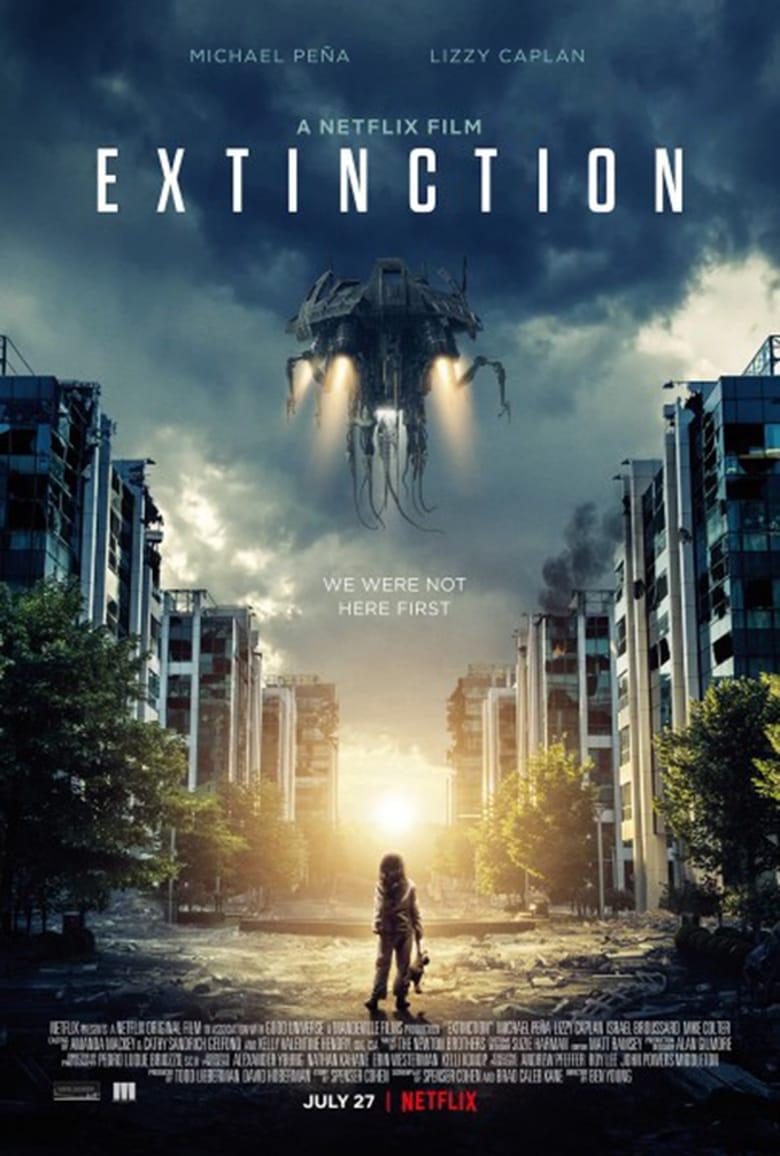 Εξώφυλλο του Extinction