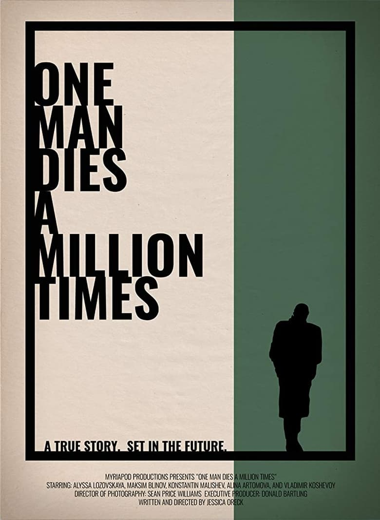 One Man Dies a Million Times - poster