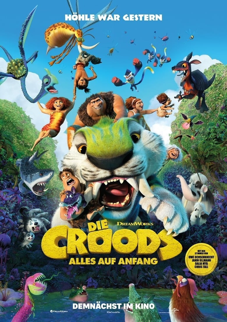 Die Croods - Alles auf Anfang - Familie / 2021 / ab 0 Jahre