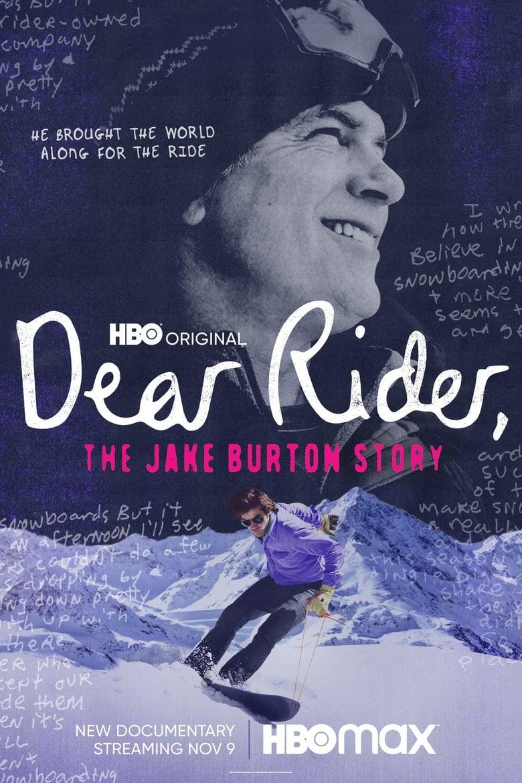 Dear Rider: The Jake Burton Story (2021)