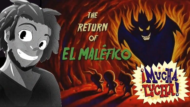 Mucha Lucha: The Return of El Malefico banner backdrop