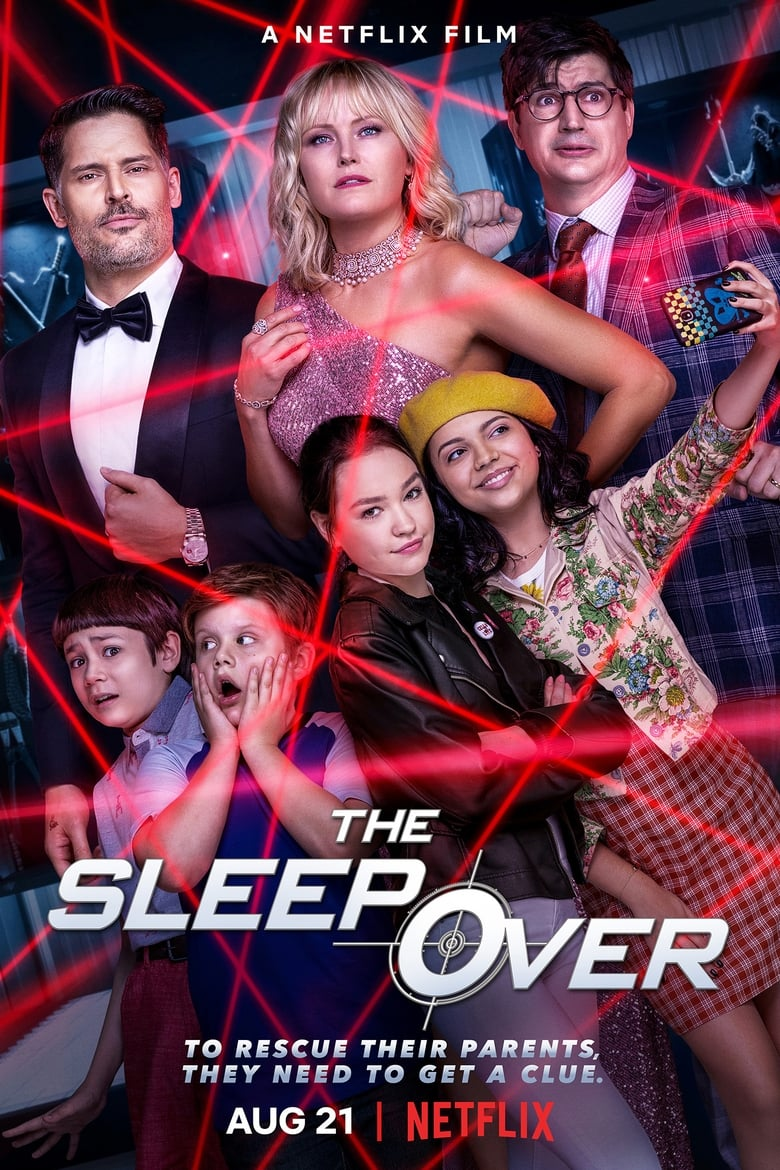 The Sleepover (2020) 1080p NF WEB-DL HIN-ENG DDP5.1 Atmos x264-Telly [4.14 GB]
