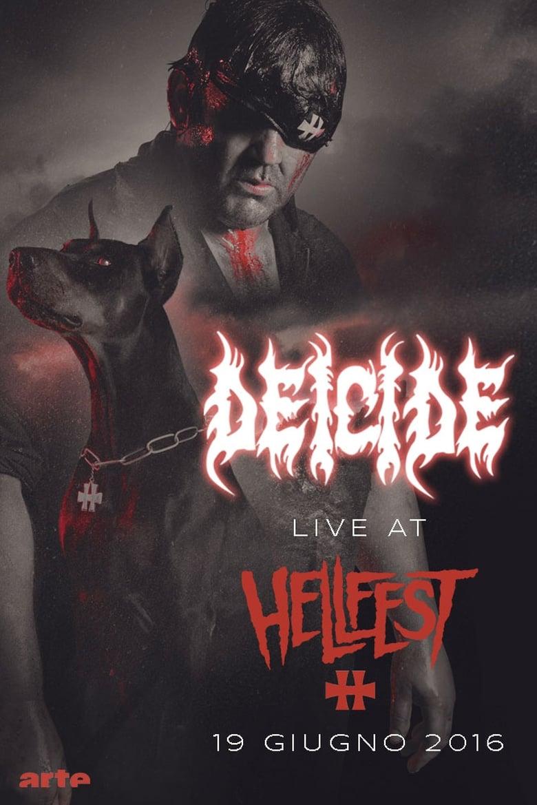 Εξώφυλλο του Deicide: Hellfest 2016