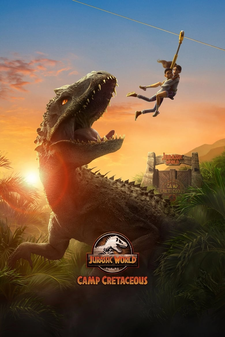 Poster for Serial Jurassic World: Camp Cretaceous