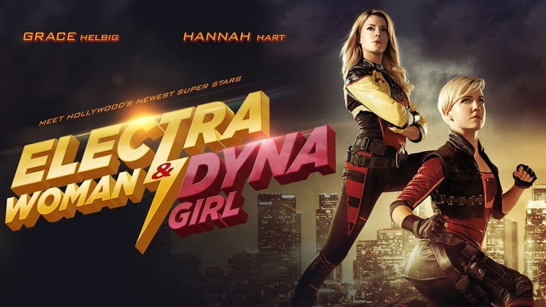 Watch Electra Woman and Dyna Girl 2016 Full Movie Online Free