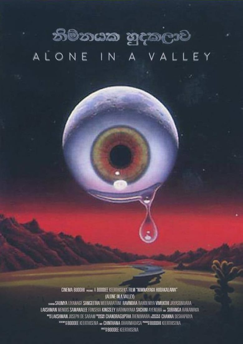 Alone in a Valley - poster