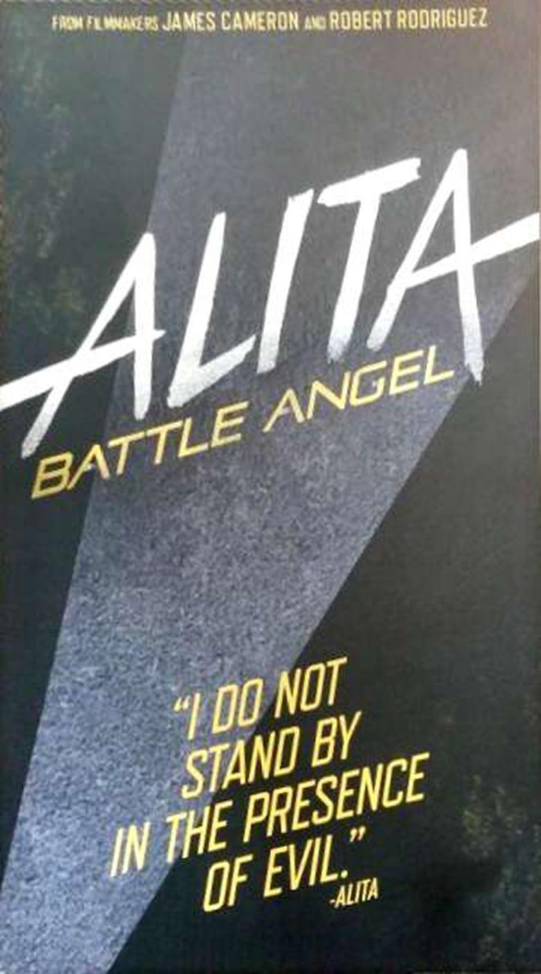 Alita: Battle Angel - poster