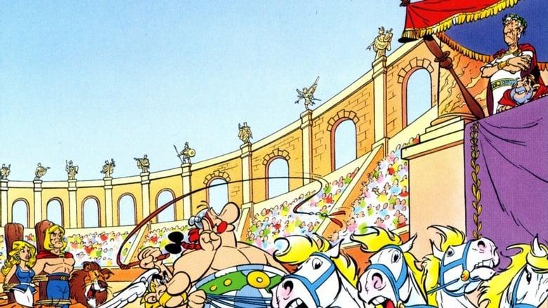 Asteriksas prieš Cezarį / Asterix vs. Caesar (1985)