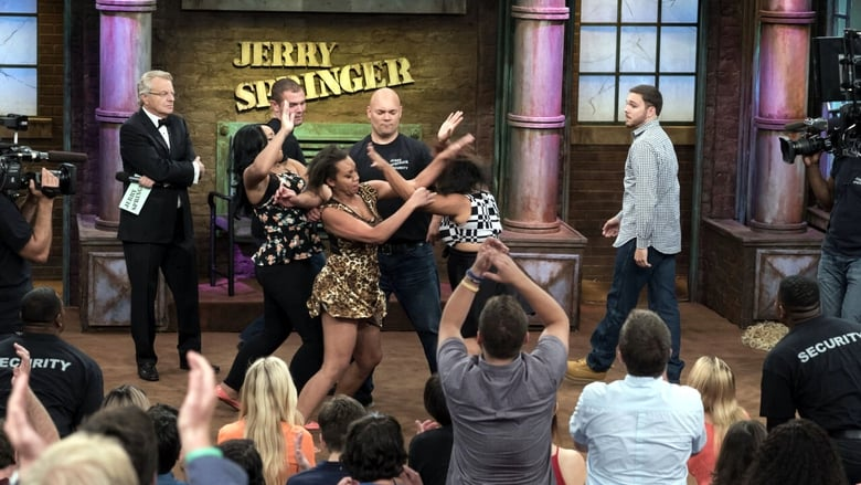 The Jerry Springer Show banner backdrop
