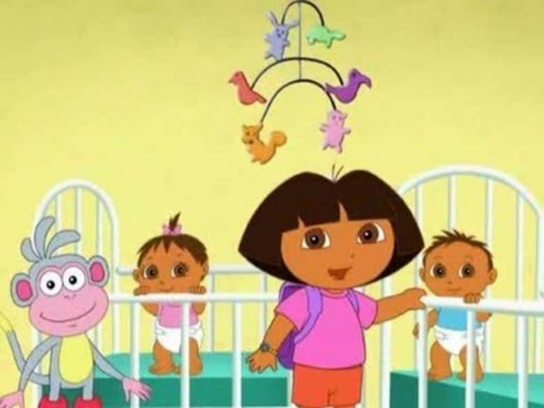 Dora the Explorer Season 5 Episode 15 | Super Babies Dream Adventure